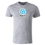 1970 FIFA World Cup Logo Men's Fashion T-Shirt (Gray)