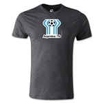 1978 FIFA World Cup Logo Men's Fashion T-Shirt (Dark Gray)