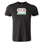 1986 FIFA World Cup Logo Men's Fashion T-Shirt (Black)