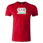 1986 FIFA World Cup Logo Men's Fashion T-Shirt (Red)