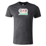 1986 FIFA World Cup Logo Men's Fashion T-Shirt (Dark Gray)
