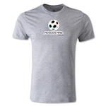 1990 FIFA World Cup Logo Men's Fashion T-Shirt (Gray)