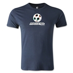 1990 FIFA World Cup Logo Men's Fashion T-Shirt (Navy)