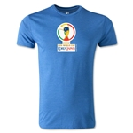 2002 FIFA World Cup Logo Men's Fashion T-Shirt (Heather Royal)