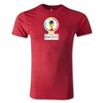 2002 FIFA World Cup Logo Men's Fashion T-Shirt (Heather Red)
