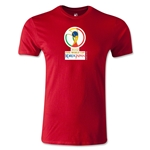 2002 FIFA World Cup Logo Men's Fashion T-Shirt (Red)