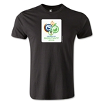 2006 FIFA World Cup Logo Men's Fashion T-Shirt (Black)