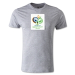 2006 FIFA World Cup Logo Men's Fashion T-Shirt (Gray)