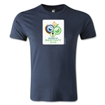 2006 FIFA World Cup Logo Men's Fashion T-Shirt (Navy)