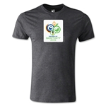 2006 FIFA World Cup Logo Men's Fashion T-Shirt (Dark Gray)