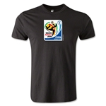 2010 FIFA World Cup Logo Men's Fashion T-Shirt (Black)