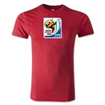 2010 FIFA World Cup Logo Men's Fashion T-Shirt (Heather Red)