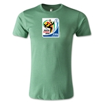 2010 FIFA World Cup Logo Men's Fashion T-Shirt (Heather Green)