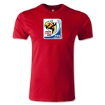 2010 FIFA World Cup Logo Men's Fashion T-Shirt (Red)