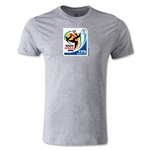 2010 FIFA World Cup Logo Men's Fashion T-Shirt (Gray)