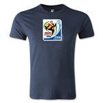 2010 FIFA World Cup Logo Men's Fashion T-Shirt (Navy)