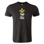 1970 FIFA World Cup Juanito Mascot Men's Fashion T-Shirt (Black)