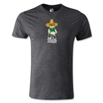 1970 FIFA World Cup Juanito Mascot Men's Fashion T-Shirt (Dark Gray)