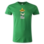 1970 FIFA World Cup Juanito Mascot Men's Fashion T-Shirt (Green)