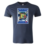 1998 FIFA World Cup Historical Poster Men's Fashion T-Shirt (Navy)