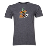 1986 FIFA World Cup Pique Mascot Men's Fashion T-Shirt (Dark Gray)
