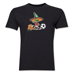 1986 FIFA World Cup Pique Mascot Men's Fashion T-Shirt (Black)