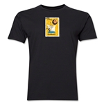 1958 FIFA World Cup Sweden Men's Premium Historical Poster T-Shirt (Black)