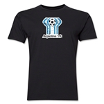 1978 FIFA World Cup Argentina Men's Premium Historical Poster T-Shirt (Black)