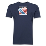 1994 FIFA World Cup USA Men's Premium Historical Poster T-Shirt (Navy)