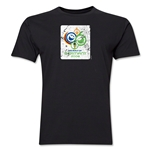 2006 FIFA World Cup Germany Men's Premium Historical Poster T-Shirt (Black)