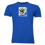 2010 FIFA World Cup South Africa Men's Premium Historical Poster T-Shirt (Royal)