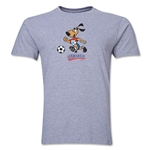 1994 FIFA World Cup Striker Men's Mascot Logo T-Shirt (Grey)
