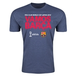 Vamos Barca FIFA Club World Cup Japan 2015(TM) Men's Shirt (Blue)