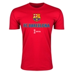 Barcelona FIFA Club World Cup Japan 2015(TM) Men's Badge Shirt (Red)