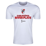 River Plate FIFA Club World Cup Japan 2015(TM) Men's Badge Shirt (White)