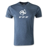 France FFF Mens' Fashion T-Shirt (Blue)