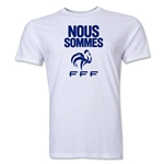 France Nous Sommes Men's Fashion T-Shirt (White)