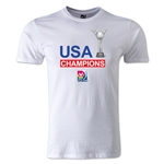 FIFA U-20 Women's World Cup Champions Men's Fashion T-Shirt (White)