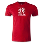 FIFA U-20 World Cup Turkey 2013 Men's Fashion Emblem T-Shirt (Red)