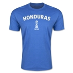 Honduras FIFA U-17 World Cup Chile 2015 Men's Premium T-Shirt (Heather Royal)