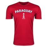 Paraguay FIFA U-17 World Cup Chile 2015 Men's Premium T-Shirt (Red)