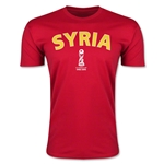 Syria FIFA U-17 World Cup Chile 2015 Men's Premium T-Shirt (Red)