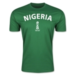 Nigeria FIFA U-17 World Cup Chile 2015 Men's Premium T-Shirt (Green)