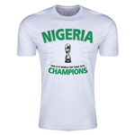 Nigeria FIFA U17 World Cup Chile 2015 Champions T-Shirt (White)