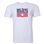 I Believe Men's Fashion T-Shirt (White)