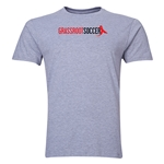 Grassroot Soccer Men's Fashion T-Shirt (Gray)