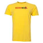 Grassroot Soccer Men's Fashion T-Shirt (Yellow)