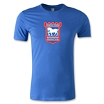 Ipswich Crest Men's Fashion T-Shirt (Royal)