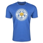 Leicester City Crest T-Shirt (Heather Royal)
