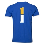 Leicester City Player Number 1 T-Shirt (Royal)
